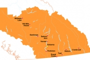 Interior Health stretches from Williams Lake in the north to Cranbrook, Grand Forks and Penticton in the south.
